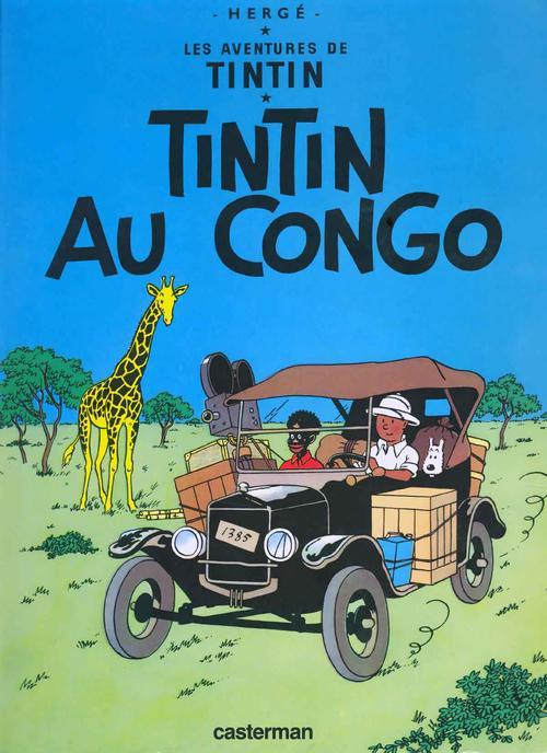 板栗育儿亲子与健康-丁丁历险记之丁丁在刚果