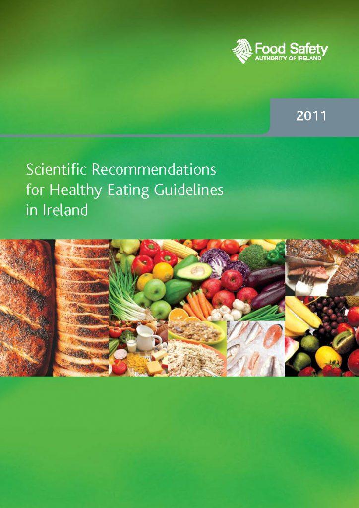 板栗育儿-爱尔兰健康膳食指南(2011)