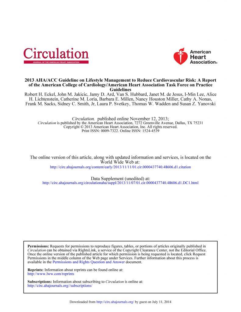 板栗育儿-降低心血管疾病风险的膳食指南(2013)