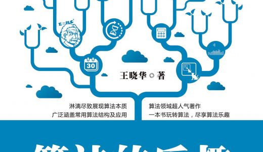 算法的乐趣 王晓华著 pdf电子书 百度云盘下载